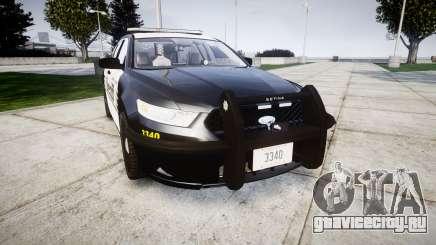 Ford Taurus 2014 County Sheriff [ELS] для GTA 4