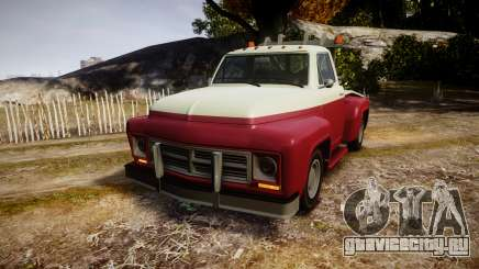 Vapid Towtruck Restored stripeless tires для GTA 4