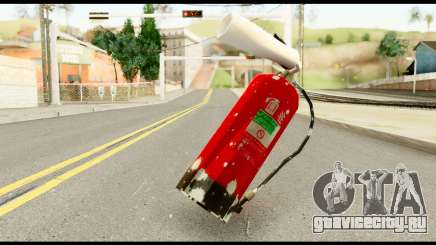 Fire Extinguisher with Blood для GTA San Andreas