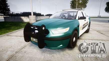 Ford Taurus 2014 LCSO [ELS] для GTA 4