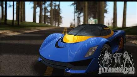Grotti Turismo R v2 (GTA V) для GTA San Andreas
