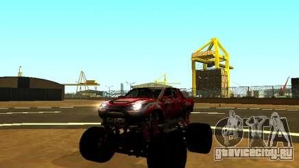 SuperMotoXL Zen MaXXimus CD 17.1 XL-HT для GTA San Andreas