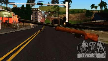 Rifle from GTA 4 для GTA San Andreas