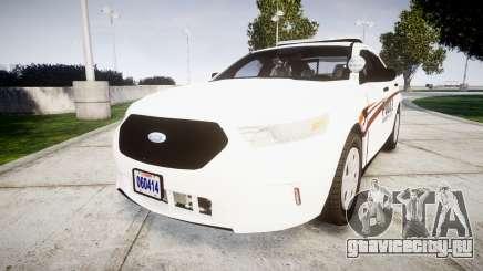 Ford Taurus 2014 Police Interceptor [ELS] для GTA 4