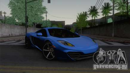 McLaren MP4-12C Gawai v1.5 HQ interior для GTA San Andreas