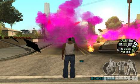 New Pink Effects для GTA San Andreas четвёртый скриншот
