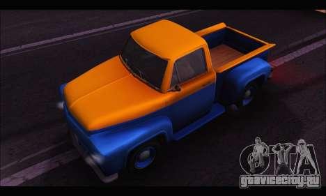 Vapid Slamvan (GTA V) для GTA San Andreas вид справа