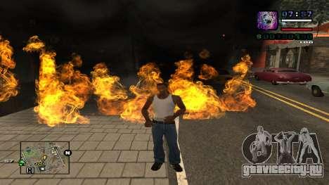 C-HUD Politra для GTA San Andreas второй скриншот