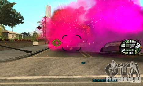 New Pink Effects для GTA San Andreas третий скриншот