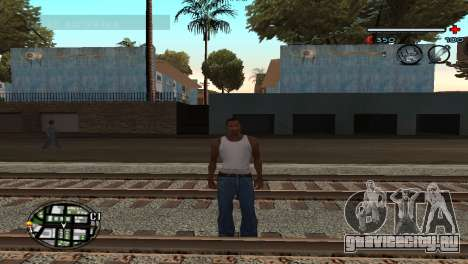 C-HUD Gray для GTA San Andreas второй скриншот