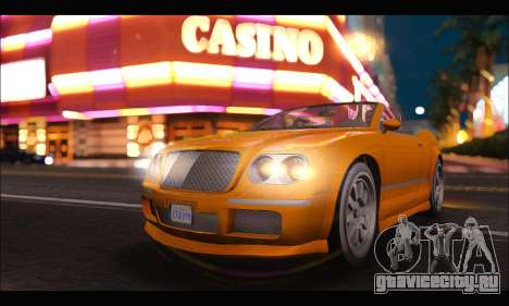 Enus Cognoscenti Cabrio (GTA V) (IVF) для GTA San Andreas