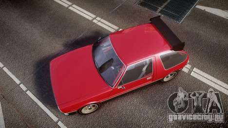 Declasse Rhapsody Camber для GTA 4 вид справа