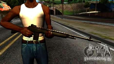 New Rifle для GTA San Andreas третий скриншот