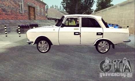 Москвич 412 White Swallow для GTA San Andreas