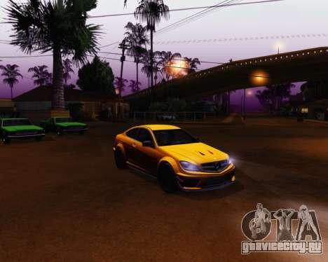 ENB by Robert v8.3 для GTA San Andreas третий скриншот