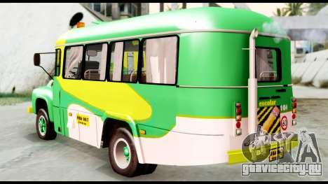 Ford Bus 1956 для GTA San Andreas вид слева