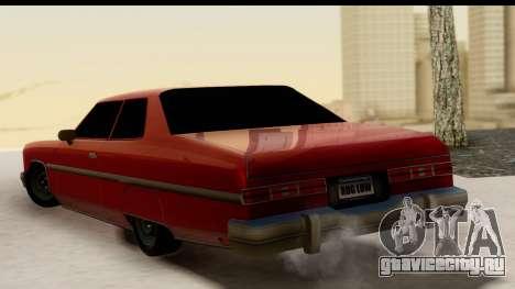 Chevy Caprice 1975 для GTA San Andreas вид слева