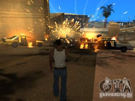 Realistic Effects v3.4 by Eazy для GTA San Andreas пятый скриншот