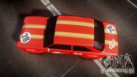 Ford Escort RS1600 PJ28 для GTA 4