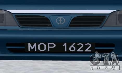 Daewoo-FSO Polonez Kombi 1.6 GSI Police 2000 для GTA San Andreas вид сбоку