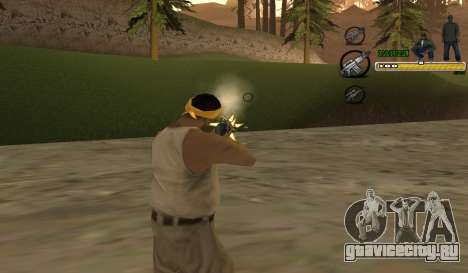 C-HUD TaweR Green для GTA San Andreas второй скриншот