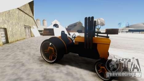 Tractor Kor4 v2 для GTA San Andreas вид сзади слева
