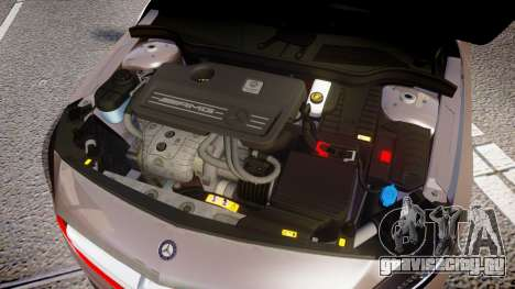 Mersedes-Benz A45 AMG PJs4 для GTA 4 вид изнутри
