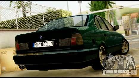 BMW 525 E34 для GTA San Andreas вид слева