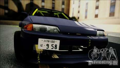 Nissan Skyline GT-S R32 для GTA San Andreas вид справа