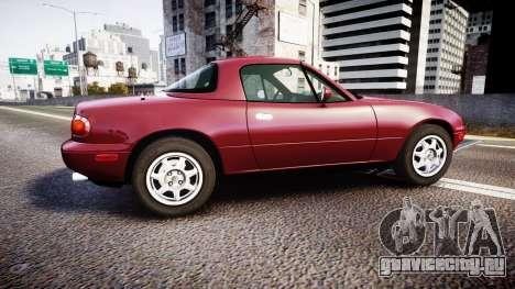 Mazda MX-5 Miata NA 1994 [EPM] для GTA 4 вид слева