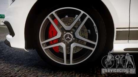 Mersedes-Benz A45 AMG PJs1 для GTA 4 вид сзади