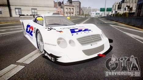 Mercedes-Benz CLK LM 1998 PJ36 для GTA 4