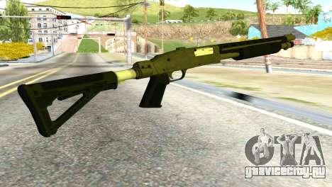 Shotgun from GTA 5 для GTA San Andreas второй скриншот
