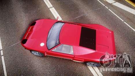 Vapid Bullet 2015 Facelift для GTA 4 вид справа