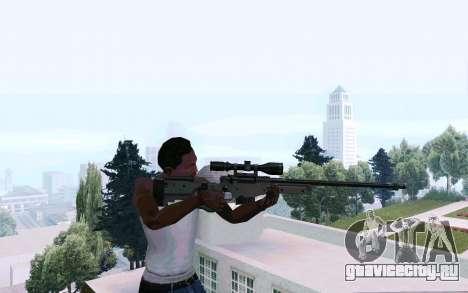 AWP L96 для GTA San Andreas третий скриншот