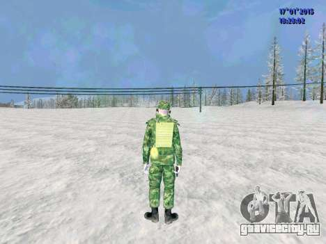 Радист ВДВ для GTA San Andreas второй скриншот