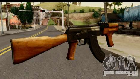Modified AK47 для GTA San Andreas