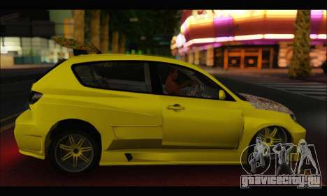 Mazda Speed 3 Tuning для GTA San Andreas