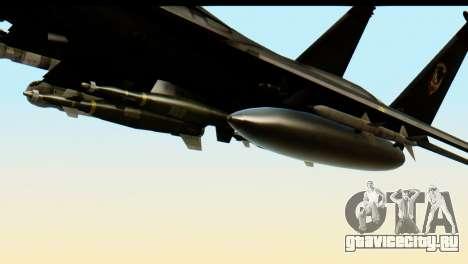 F-15 Razgriz для GTA San Andreas вид справа
