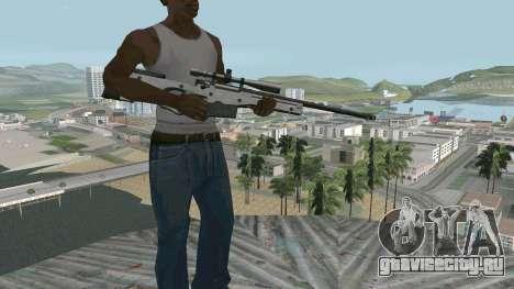 Metal AWP L96А1 для GTA San Andreas второй скриншот