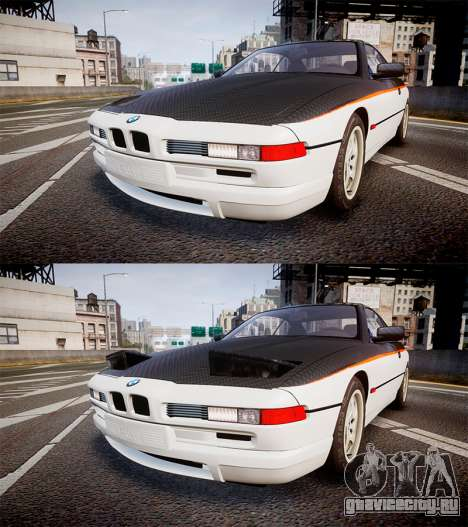 BMW E31 850CSi 1995 [EPM] Carbon для GTA 4 вид сбоку