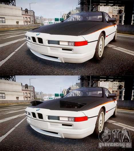 BMW E31 850CSi 1995 [EPM] Carbon для GTA 4 вид сбоку