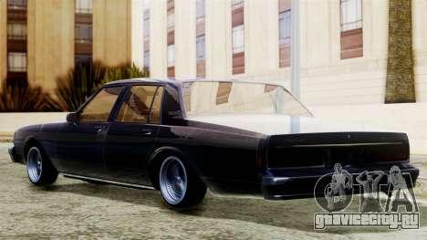 Chevrolet Caprice для GTA San Andreas вид слева