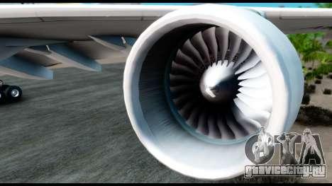 Airbus A380-800 Etihad New Livery для GTA San Andreas вид справа