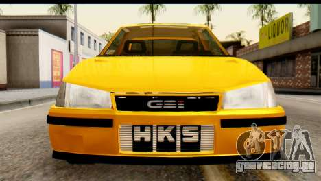 Opel Kadett GSI Drag 2015 для GTA San Andreas вид справа