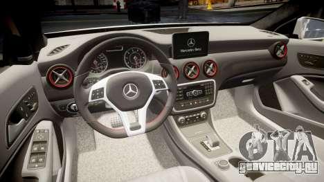 Mersedes-Benz A45 AMG PJs1 для GTA 4 вид сбоку