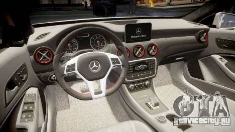 Mersedes-Benz A45 AMG PJs4 для GTA 4 вид сбоку