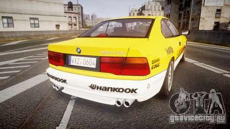 BMW E31 850CSi 1995 [EPM] E-Post Brief для GTA 4 вид сзади слева