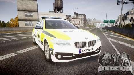 BMW 530d F11 Norwegian Police [ELS] для GTA 4