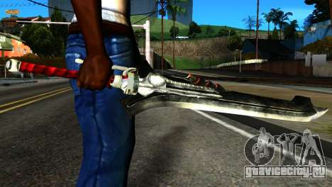 New Katana для GTA San Andreas третий скриншот